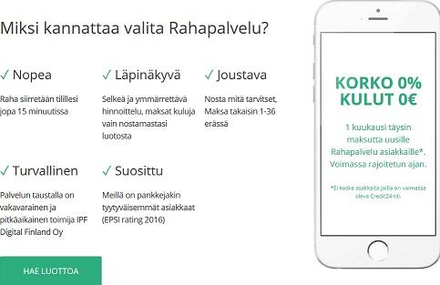 Rahapalvelu on täysin uusinta uutta Suomessa. Juuri toimintansa aloittanut yhtiö on jo nyt vakuuttanut monet suomalaiset.