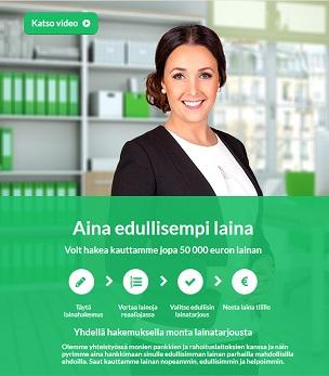 Rahalaitos välittää edulliset lainat ja palvelu on ollut monen suomalaisen taloudellisen tilanteen pelastajia