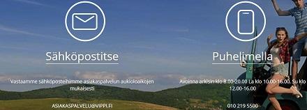 Vippi.fi:n erinomainen asiakaspalvelu auttaa ongelmatilanteissa