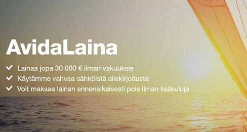 Avida Finans on uusi, mutta luotettava kulutusluottoa myöntävä yritys, joka on juuri aloittanut toimintansa Suomessa