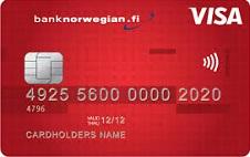 Bank Norwegianin maailmanluokan luottokorttiin saat joustavaksi luottorajaksi jopa 10.000€! Rahat ovat aina lompakossasi sinun vapaassa käytössäsi omistaessasi Bank Norwegian-luottokortin!