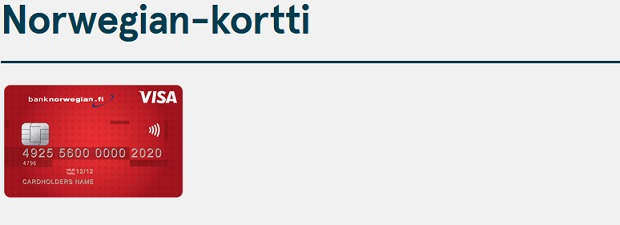 Bank Norwegian luottokortti on nopea hakea, sillä tehdyt ostokset ja nostot ovat ilmaisia. Kaiken tämän lisäksi kortti on vuosimaksuton ja korotonta maksuaikaa luottokorttilaskulle saat aina ruhtinaalliset 45 vuorokautta!