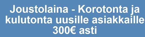 Uusille asiakkaille täysin ilmainen 300 euron ensinosto Risicumilta