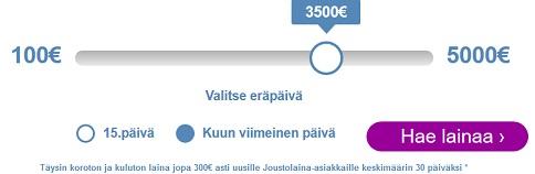 Risicumin Joustoluottoon saat markkinoiden isoimman 5000 euron limiitin